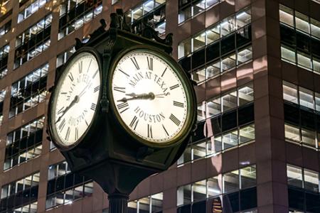 Houston-clock